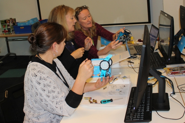 Learning to build and program mBot (the educational robot)