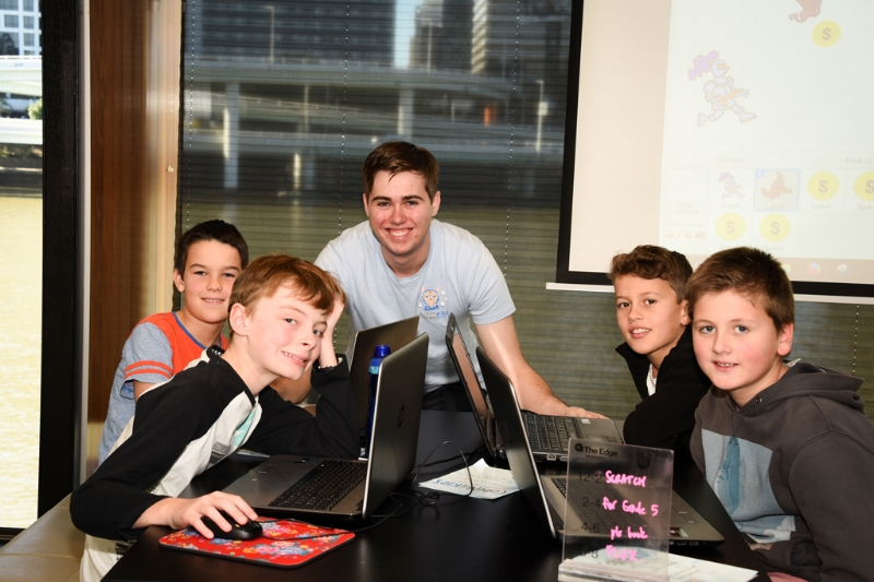 We are developing the next generation of coders, change makers and innovators