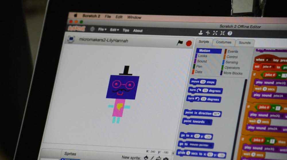 TED is a companion robot, showing the scope for empathic design within coding and robotics