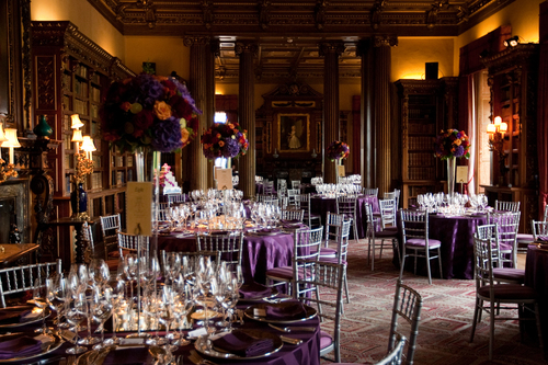 Wedding breakfast at Highclere Castle.jpg