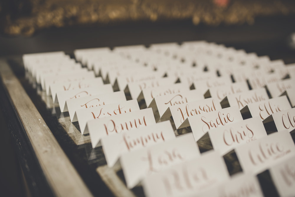 Escort cards Calligraphy .JPG