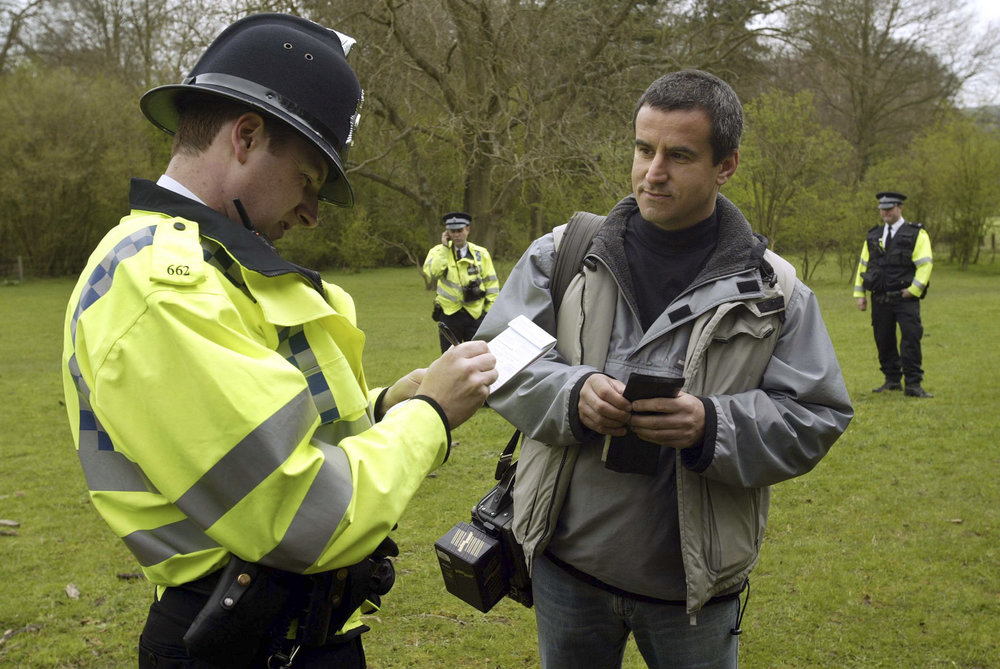 "2004 Being detained under ""Section 44"" of the anti-terrorism act."