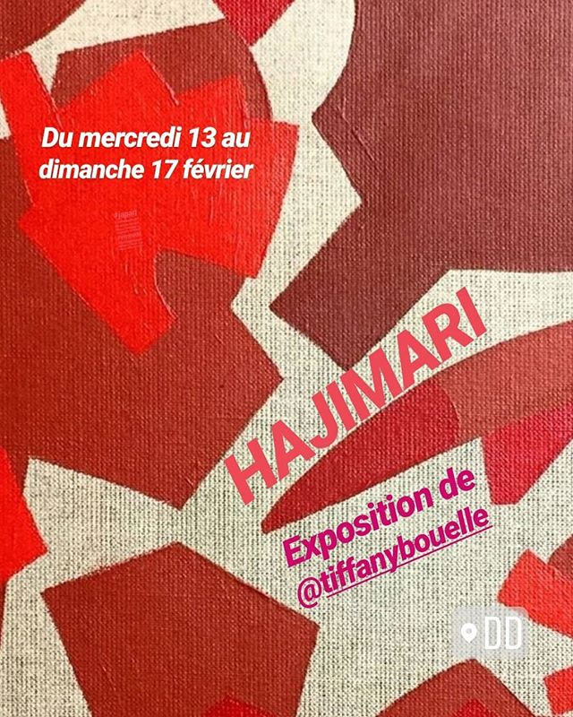 Cette semaine HAJI MARI soloshow mené par @tiffanybouelle et @tokyoitesart chez @vitrine_dd Mercredi 13 fev dimanche 17 fev 160 ans du France-Japon Entrée libre . . . . #japan #contemporaryart #artcontemporain #dessin #drawingnow #agencedd #galeriedd #vitrinedd #carreaudutemple #rouge #red #rouje #artiste #culture #galerieparis #showroomparis #parisshowroom #parispopupstore #popupstoreparis @mcjp_officiel