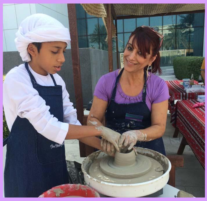 Abu Dhabi Pottery