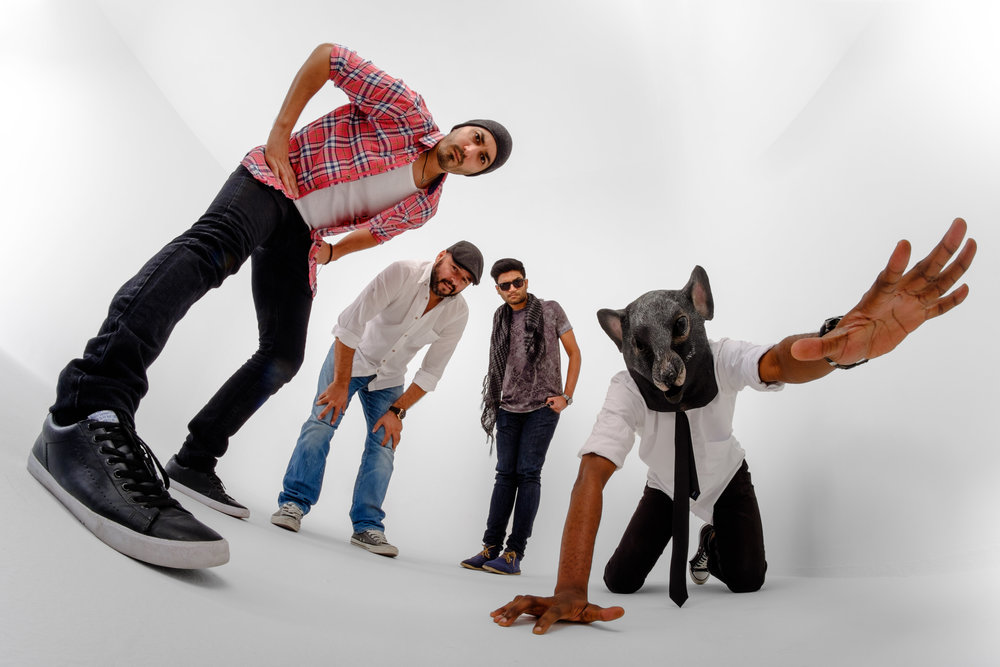 """Carl & The Reda Mafia is a Dubai based band formed in October 2014. The group consists of Carl Frenais from India, Tarek Reda from Egypt, Christos Asimakopoulos from Greece and Abimbola Durojaye """"Bims"""" from Nigeria."""