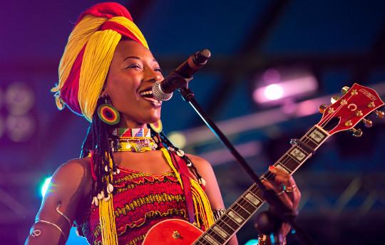 Fatoumata Diawara performs on November 12