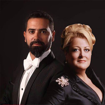 Date Thursday 15 March at 8pm    Venue Emirates Palace Auditorium    Deborah Voigt, revered as one of the world's great sopranos and one of the most respected and versatile music personalities, will be joined by Bechara Moufarrej, the beloved tenor from Lebanon, for an exquisite and intimate operatic recital. Voigt is internationally renowned for her performances in the operas of Wagner, Strauss, and more, and she is also an active recitalist and performer of Broadway standards and popular songs. Moufarrej performs internationally and will, for Abu Dhabi Festival audiences present Rossini's La Danza and Alfredo's Aria from Verdi's La Traviata. Bringing together these two artists from diverse backgrounds represents a powerful cross-cultural meeting and exchange, demonstrating opera's power as an expressive and passionate universal language.