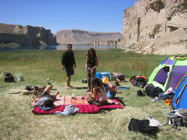 Camping trip to Bande-Amir, Bamiyan Valley