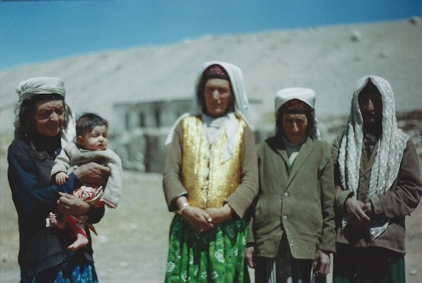 Tajiks in the Taklamakan desert, which was sadly for them, in China.