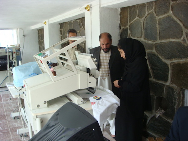 Acquisition of machinery, courtesy of USAID