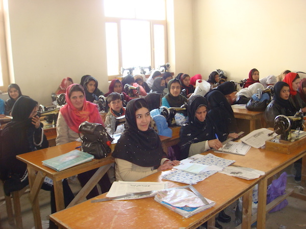 Maharat classes training seamstresses for jobs that pay better than embroidery work