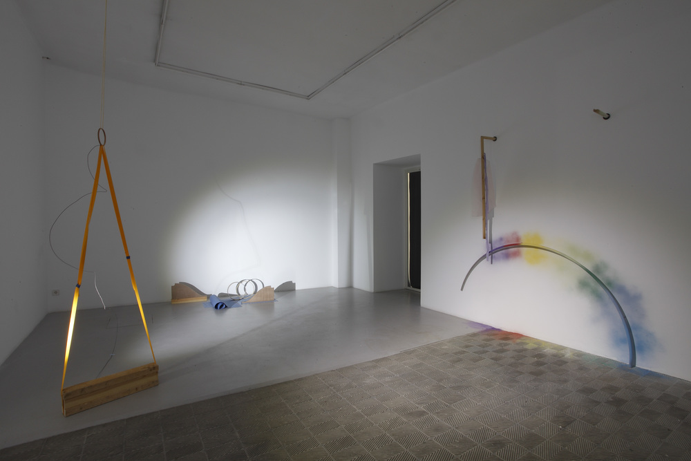 Limbs Describe Curves , 2015. Installation Shots: Marta Cervera Gallery, Madrid, Spain (September 2015).
