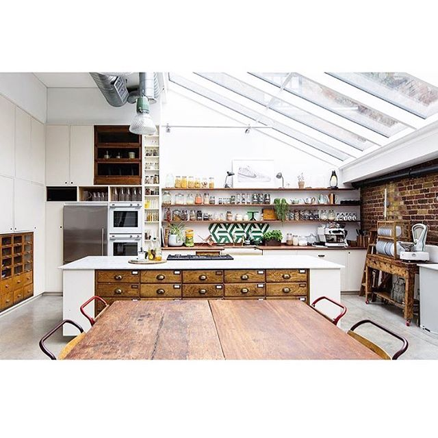 Our studio kitchen, shot for @91magazine by @cathy.pyle. Big thank you