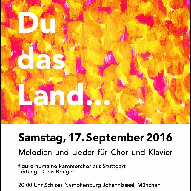 Konzertplakat #münchen #figurehumaine