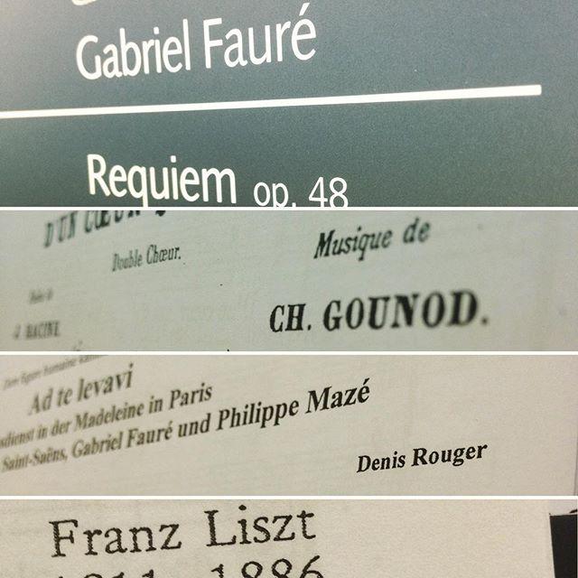 #figurehumaine #stuttgart #chormusik #fauré #denisrouger