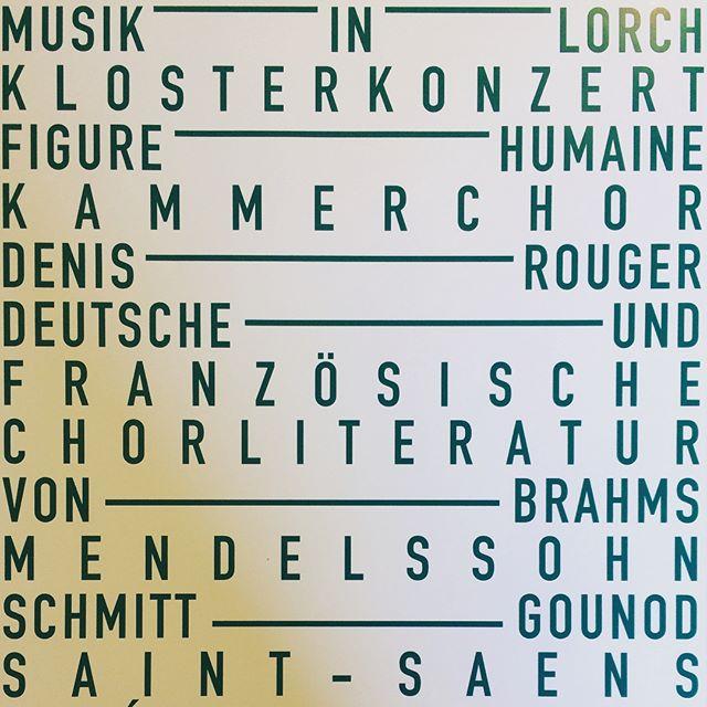 Klosterkonzert #singer #tiefederseele #kloster #lorch #concert #denisrouger #figurehumaine #sonne