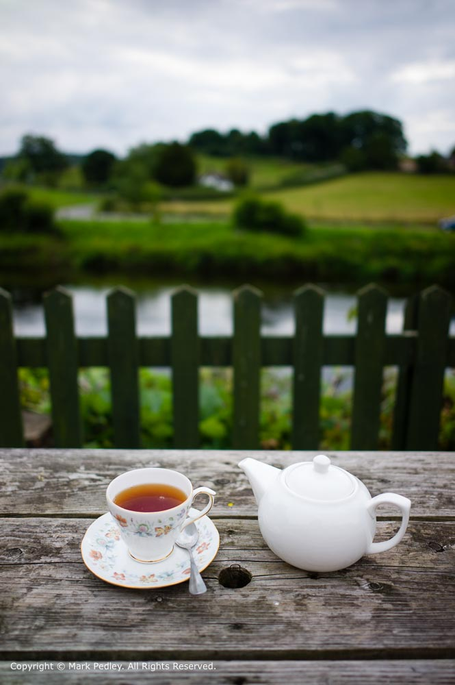 English Tea at Arley Tearooms, Arley, Worcestershire, UK.