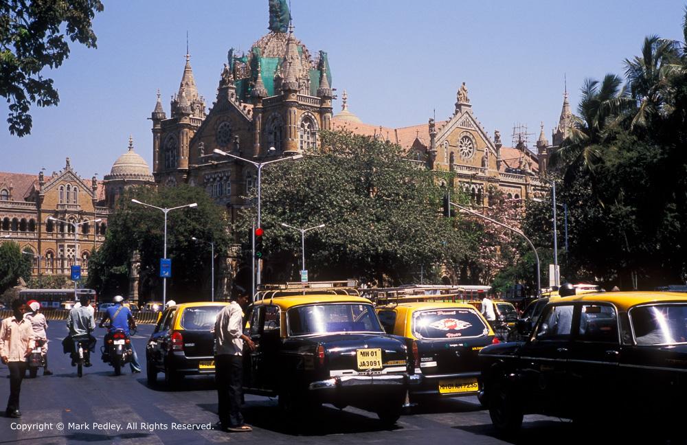 Mumbai Central Railway Station, Mumbai, India.