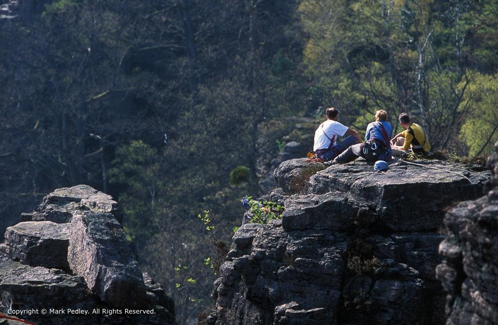 Battert rocks near Baden-Baden, Germany.