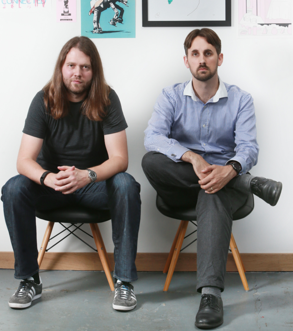 John Peebles, CEO and Andrew Williams, CTO of Administrate