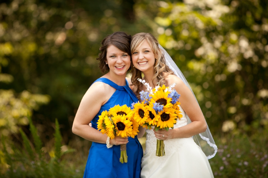The very best sister and Maid of Honor a girl could ask for!