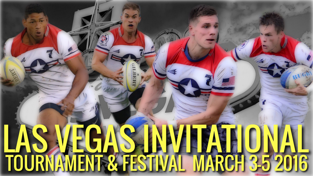 U.S. Air Force Rugby Family, Pool play for the Las Vegas Invitational begins 3 March. Start making your travel plans now to watch your fellow teammates against the best 7s talent outside of the HSBC Sevens Series.  America's Cup 7s 1. Denver 7's All Stars 2. Florida RDA 3. Elite Selects 4. US Air Force 5. Atavus All-Stars 6. Atlantis 7. Germany 7s 8. US Army  9. Bridge City 7's 10. Black Dragons 11. Cayman Islands 12. Cayman Islands 2 13. Italy 14. Sport Ively 15. Stars Rugby 1 16. Stars Rugby 2 17. Northeast ODA 18. USA Falcons 19. Davita Fiji 20. Mexico