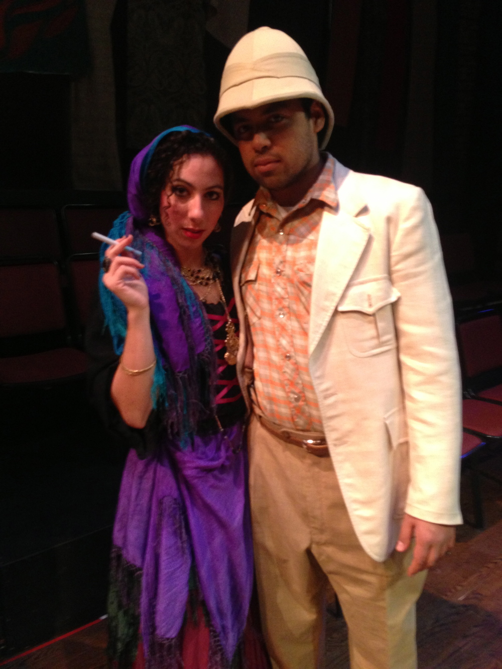 Camino Real , Gypsy, Directed by: Laura Tesman  Backstage fun