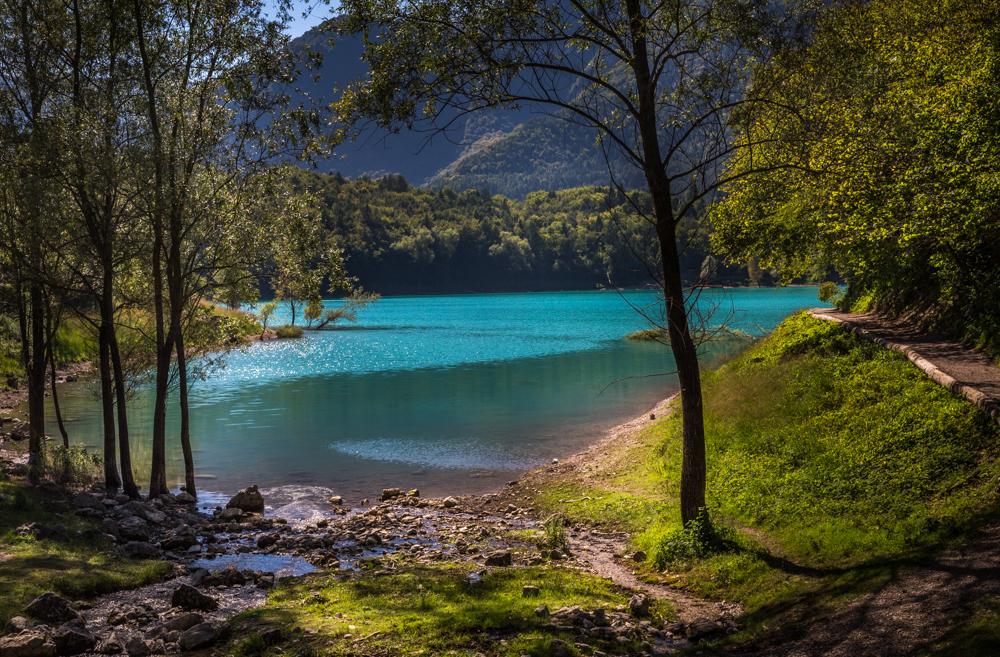 Lago di Tenno, Italy