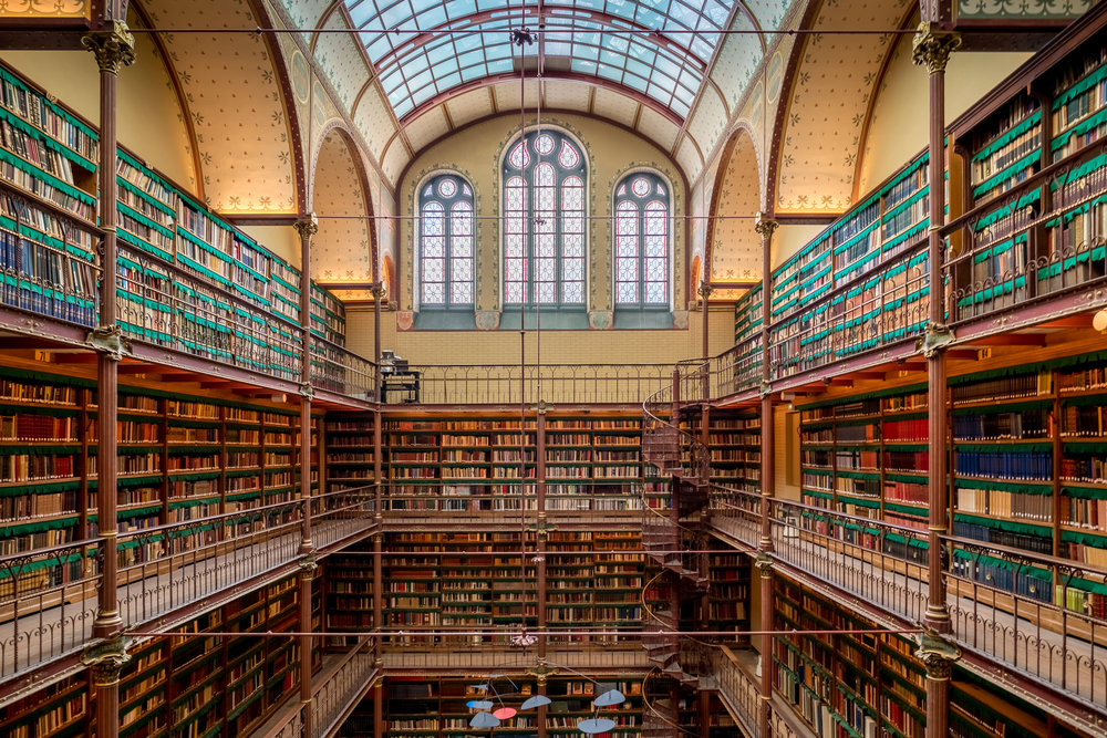 Library in the Rijksmuseum