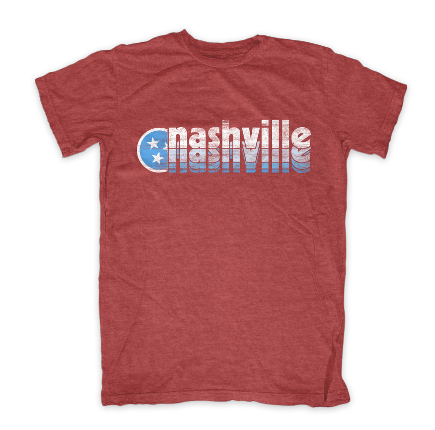 Tristar Adventures Nashville tshirt shirt nashvilletn music city retro clasic