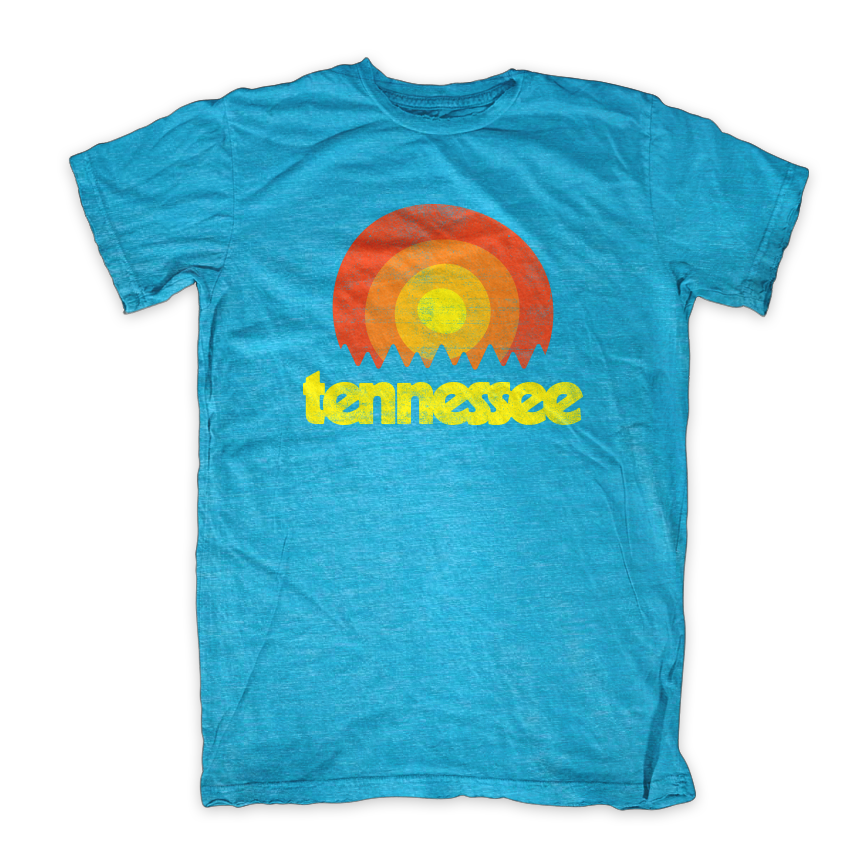 Tennessee Retro Sunset Tristar Adventures Aqua.png