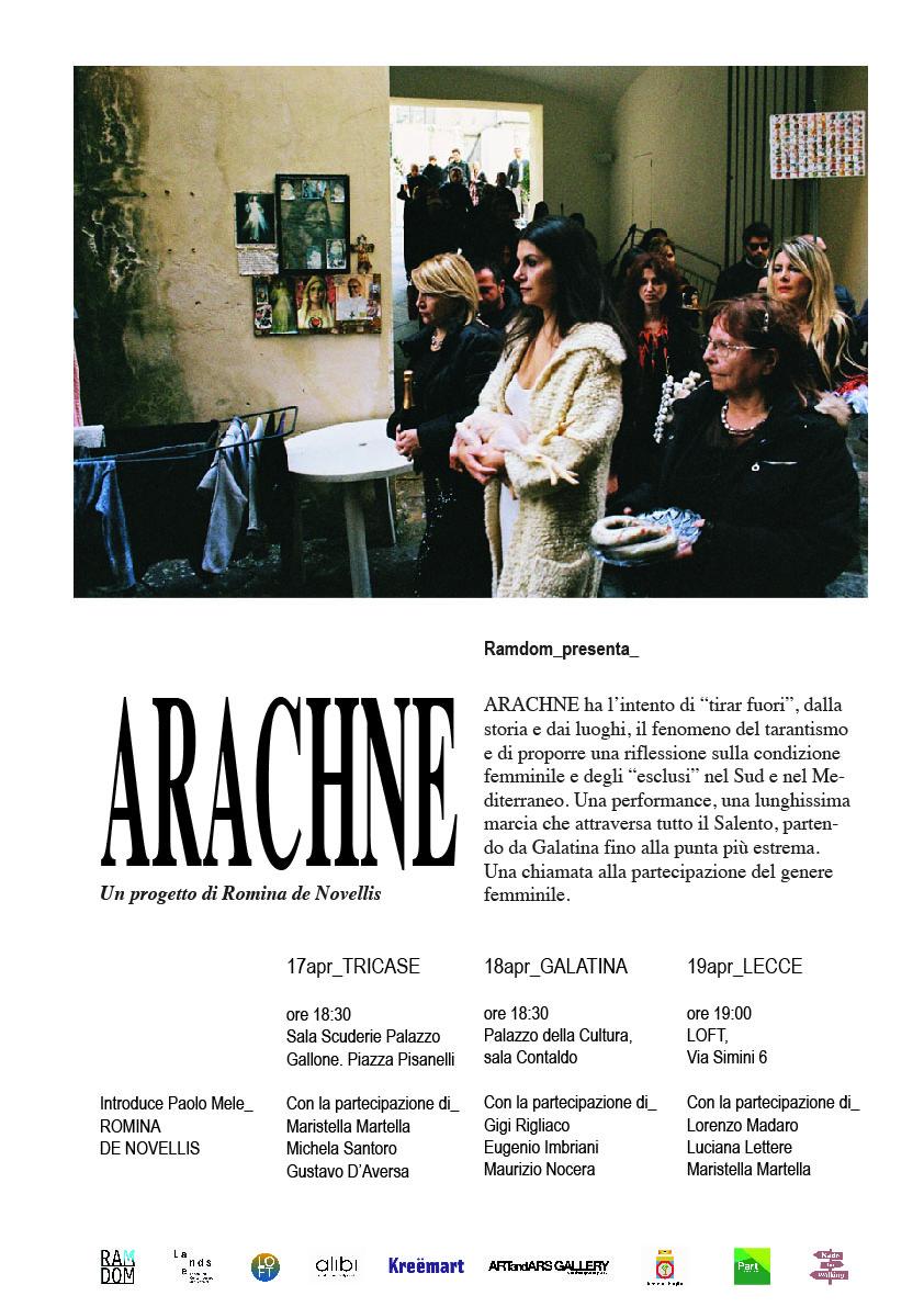 ARACHNE 3 public talks