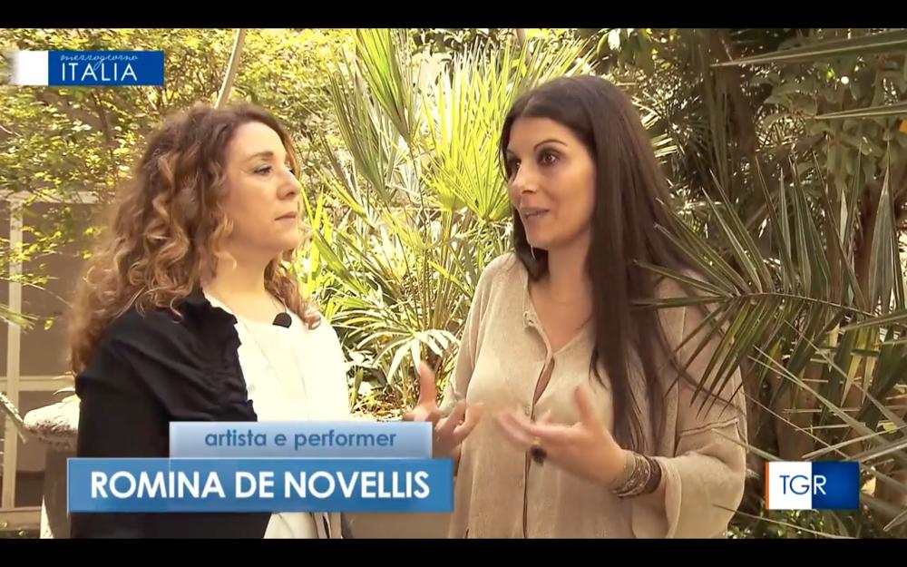 RAI TRE / Interview / Romina De Novellis
