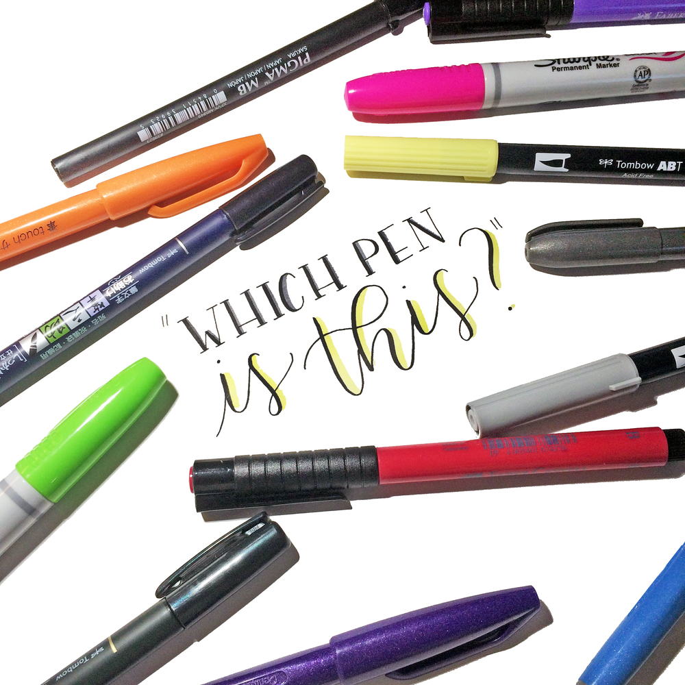 Quot which pen is this brush edition — the happy ever