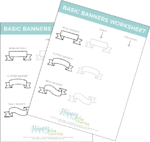 doodle-banners-free-worksheet