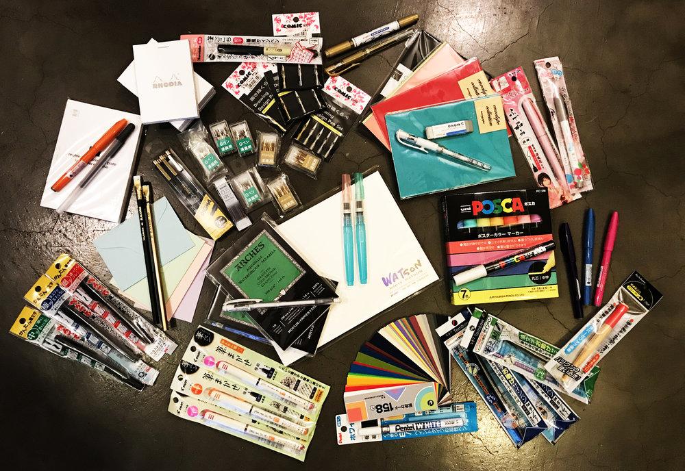 japan-art-store-supplies-haul