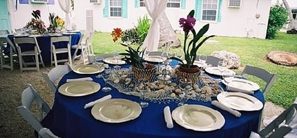 Party Supply Rentals in Miami, Tables, Chairs, Linens
