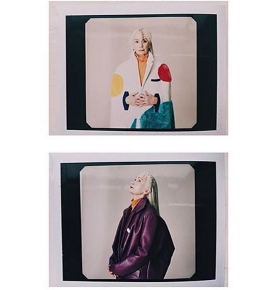 Behind the scenes polaroids on set with this amazing lot today  Beautiful model// Stefanie  @for_detta   Styling/creative direction//Zoe @zoemariespringer  Photgrapher// Bugra  @bugraergil   Hair// Rosita  @rositadi   Make-up by me