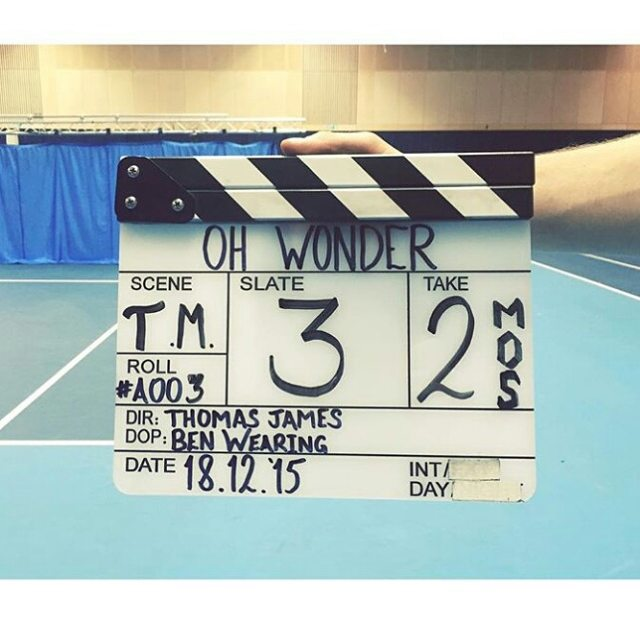 jess-summer89 :     Really looking forward to seeing this video come to life! #ohwonder #ohwondermusic #makeup #makeupartist #behindthescenes #musicvideo ( Regram from the super sweet @ohwondermusic )