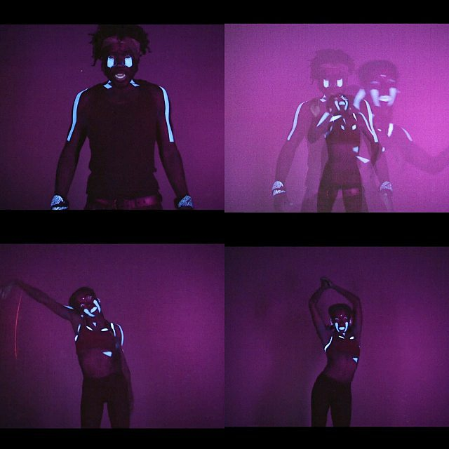 jess-summer89 :     Geometric UV make-up using @kryolanuk for the lovely @dornik_official 's new video 'Strong'. Directed by Charlie Rotberg  & incredible shapes thrown by Rhea.Loved doing this video!  http://www.vevo.com/watch/dornik/Strong/GBUV71501823   #Dornik #musicvideo #makeupartist #makeup #mua #jesssummermakeup #uvmakeup #kryolandayglowpallette #geometric #newvideo #dornikstrong