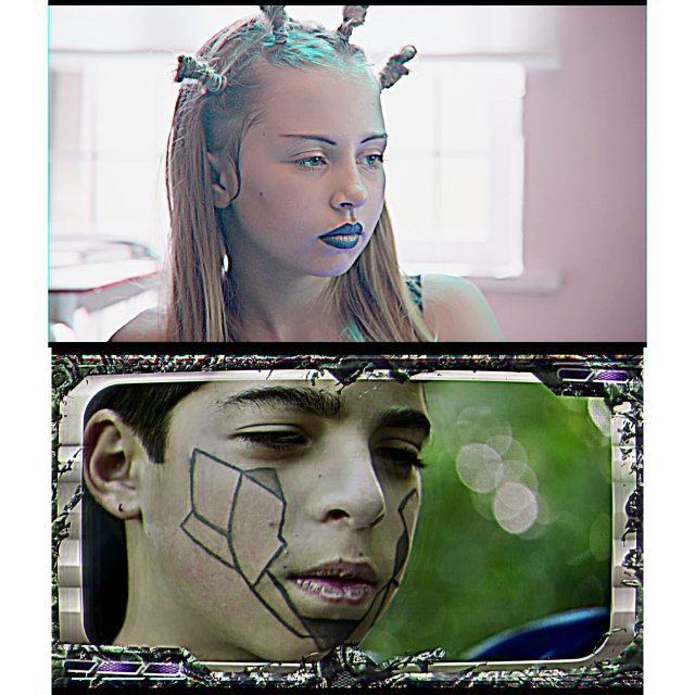 jess-summer89 :     New craaay zee music video for @oneohtrix_point_never directed by artist Jon Rafman.  Av a look here :Pointnever.com/sticky-drama  #musicvideo  #makeupartist #makeup#facepaint #oneohtrix #jonrafman #kaossedge #vectors #bluelips #brows #mua #jesssummermakeup #stills