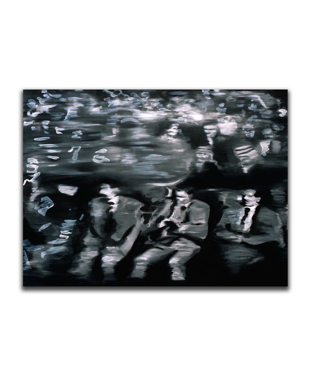 Ghost Conspirators. Oil on canvas. 36 x 48 in. 2007