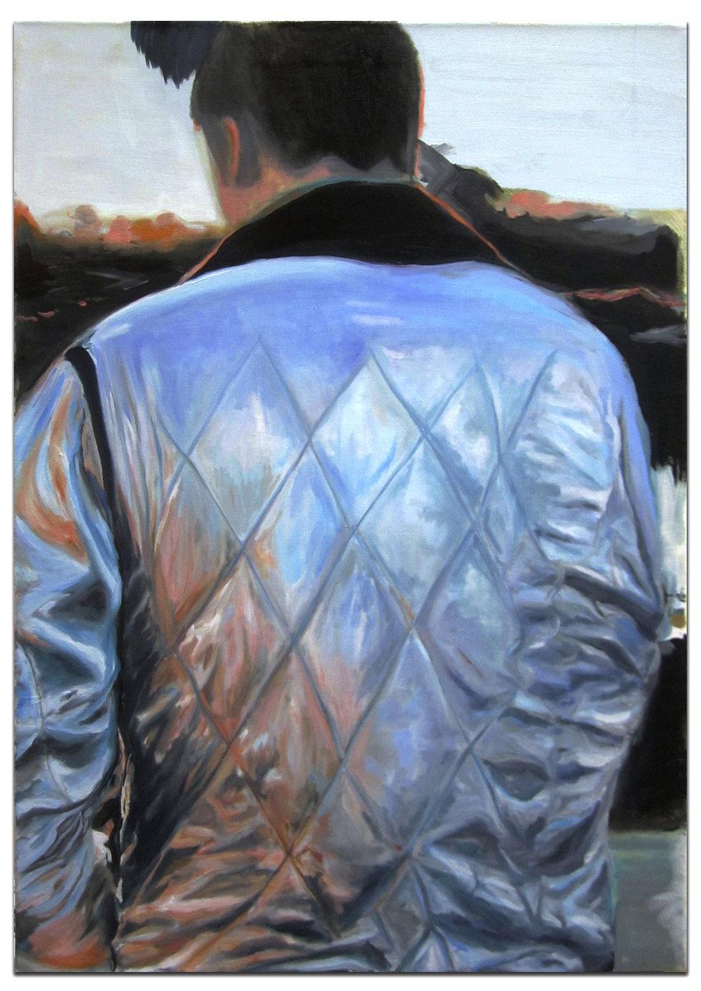 La Brea. 2013. 34 x 24 in. Oil on canvas.