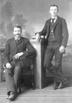 Fortunes Made and Lost   (Nicholas Creede & Nephew Harvey Lester, 1870 - Creede Historical Society Archive #3069-P-434)