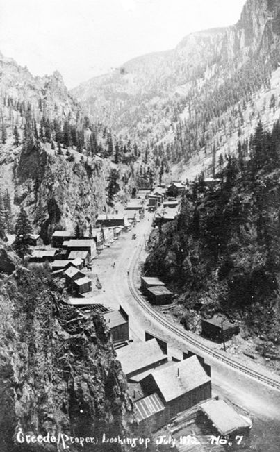 (Creede Original Town Site, 1892 - Historical Society Archive #450-CRO-6c1)