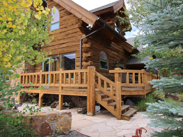 creede colorado log home for sale