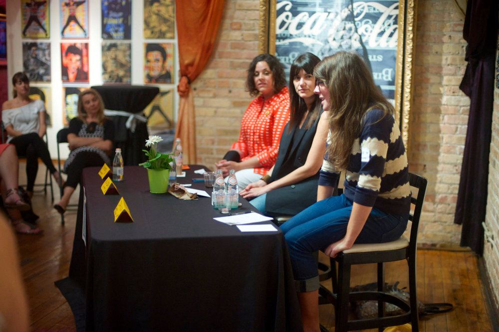 Amber Favorite, Alisa Wolfson and Jana Kinsman talk about how they keep creativity alive in one of our first events in 2013.