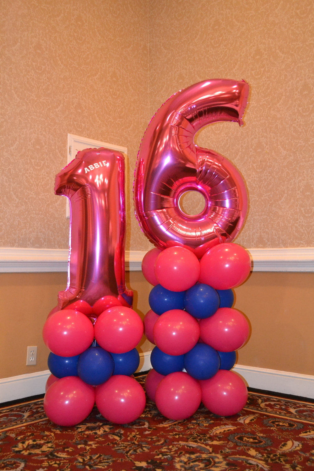 sweet 16 number pedestal.JPG