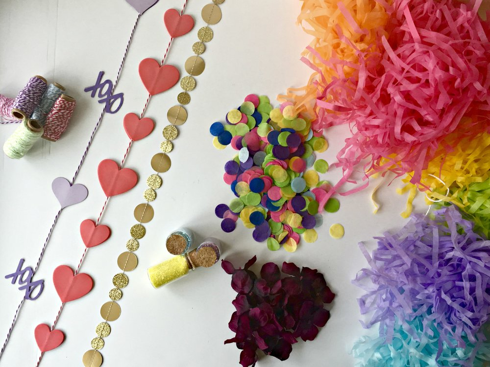 Embellishments to decorate your balloons