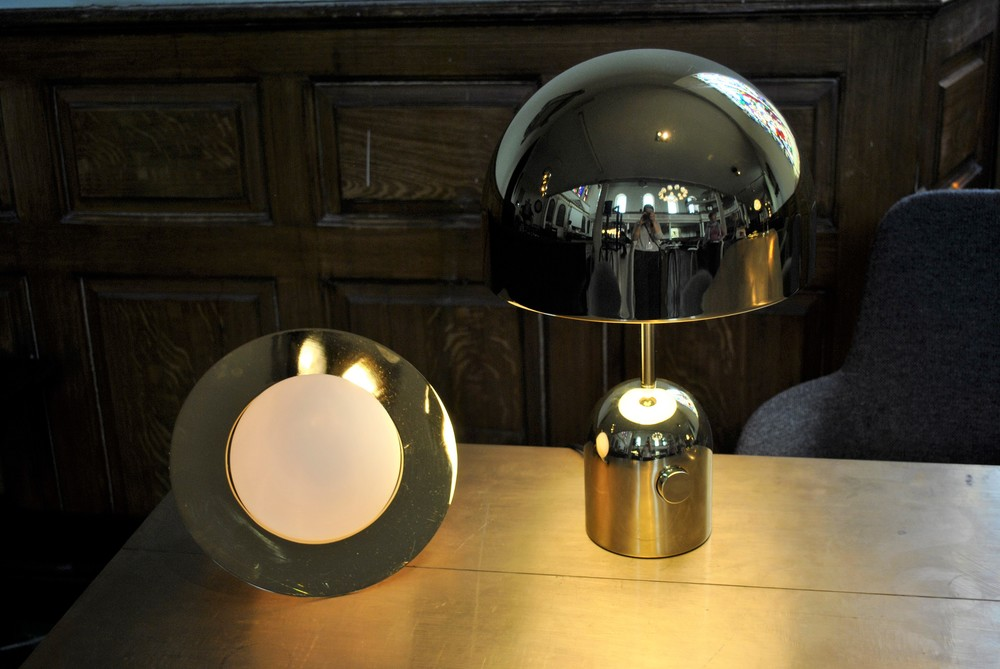 ©Detail Movement - Plane Table Light & Bell Brass Table Light by Tom Dixon - Clerkenwell best designs 2016